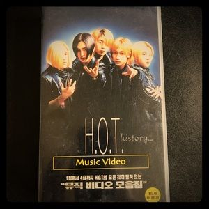 Kpop H.O.T. VHS Collector's Item
